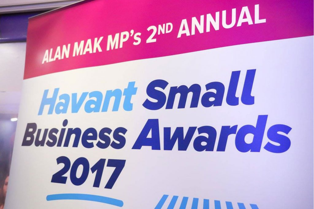 We did it! Kuru Hair, Beauty, and Tanning Salon has won the Best Health and Beauty Business at the annual AlanMak MP Havant Small Business Awards where local residents nominated their local favourites across 12 different categories.